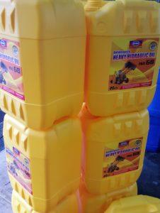 Heavy Hydraulic Oil ISO VG 68 Made in UAE - DANA Lubricants Factory LLC