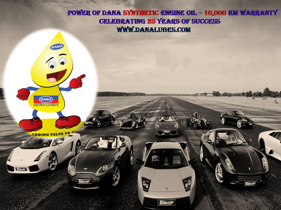 DANA Automotive Lubricant Engine Oils for Passenger Cars